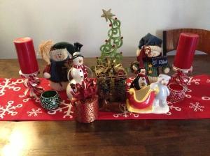 "Christmas ""clutter"""
